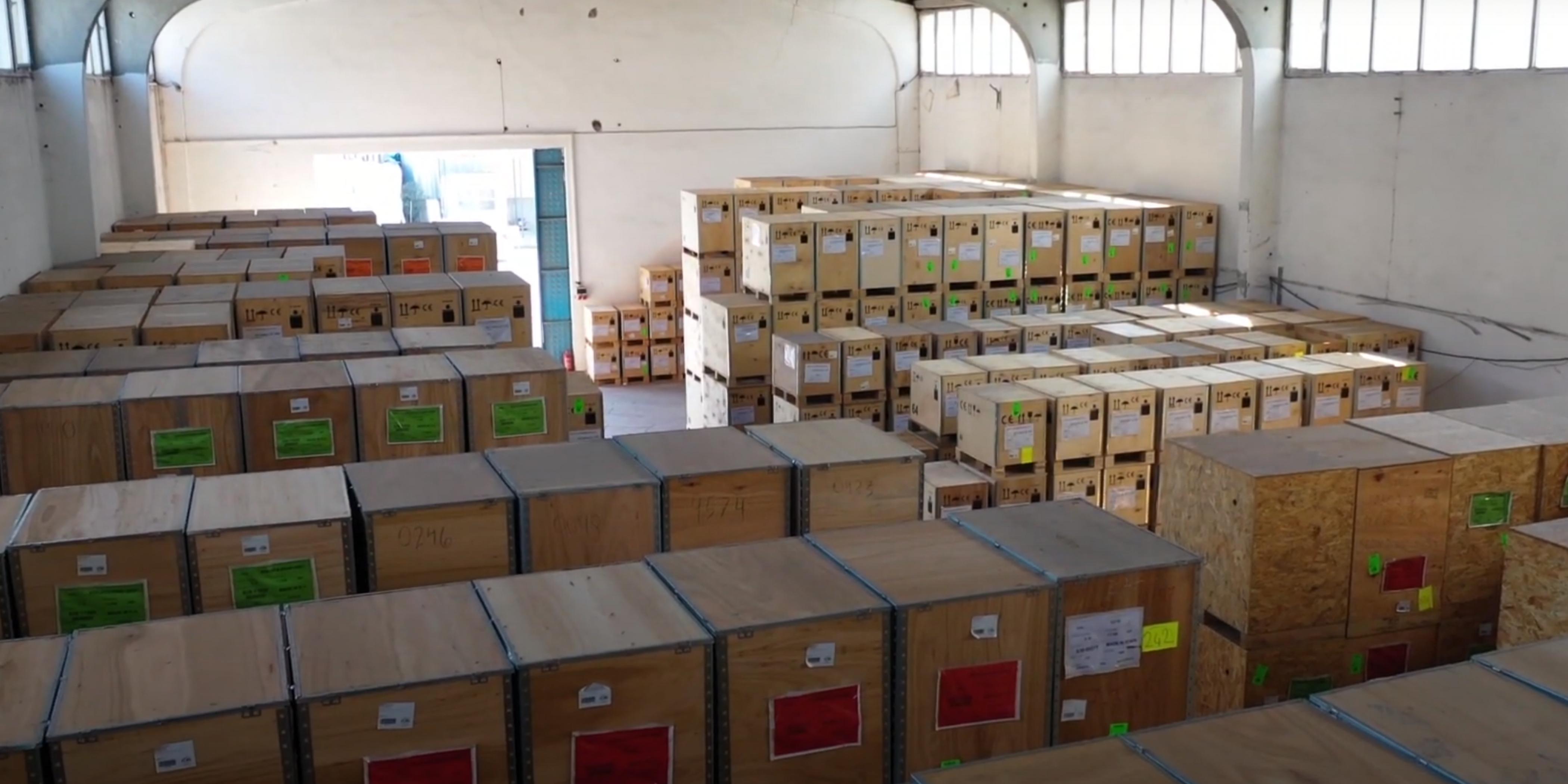 Fupa Lift - Free Zone Warehouse